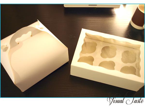 kuchen und cupcake transportboxen visualtaste. Black Bedroom Furniture Sets. Home Design Ideas